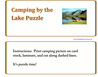 Camping By the Lake Puzzle